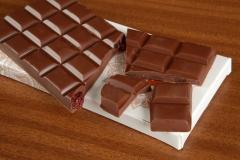 Tableta Las Esteras, chocolate con leche