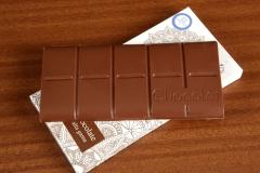 Tableta de chocolate con leche para diabéticos