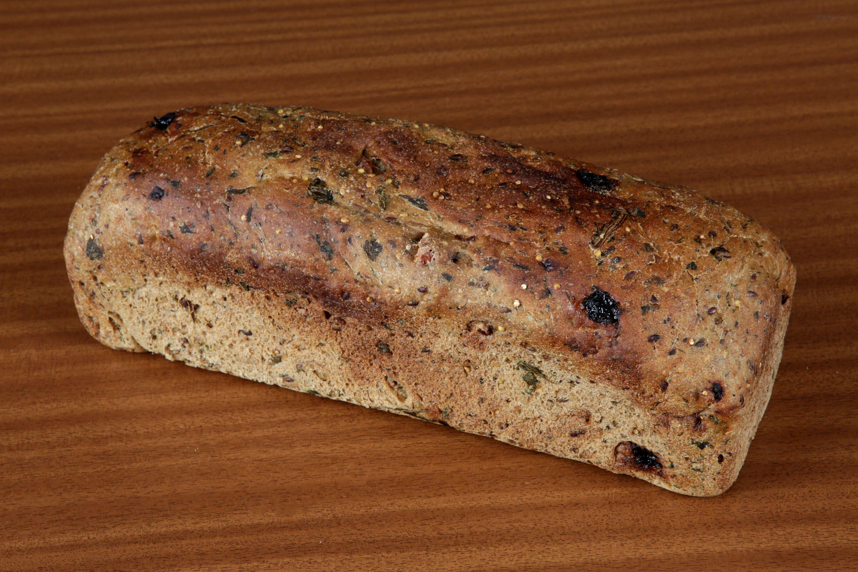 Pan de espinacas y semillas I