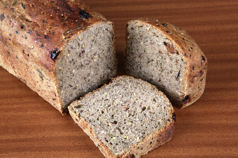 Pan de espinacas y semilllas II