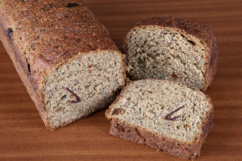 Pan laxante de fibra verde II